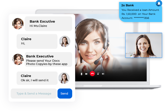 Video Chat software for Conversational Banking