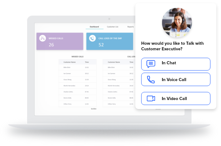 chat, voice & video call sdk for contact center