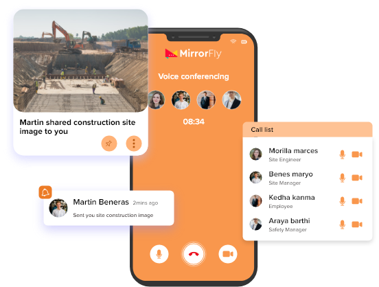self hosted voice chat for construction