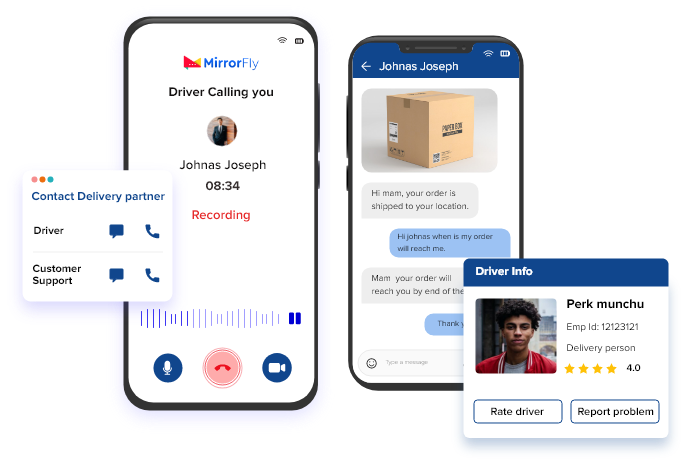 real time voice calling sdk for Logistics