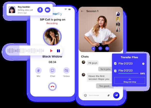 voice broadcast api for telecommunication